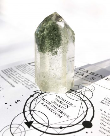 House of Formlab Lodalite Chloride Quartz with Phantom