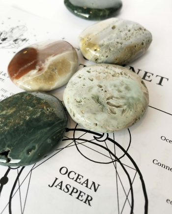 House of Formlab Ocean Jasper Meditation Stones