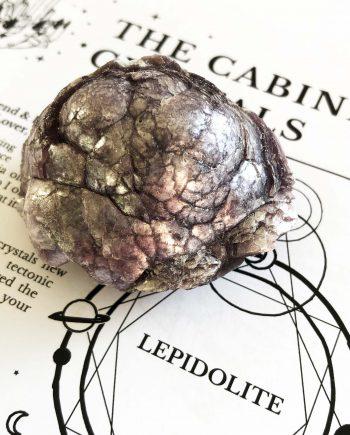 House of Formlab Raw Lepidolite