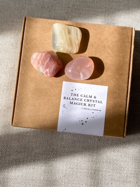 The Calm & Balance Crystal Magick Kit