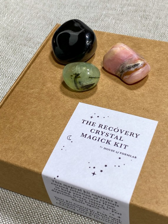 the recovery crystal magic kit