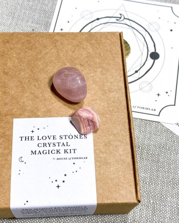 The Love Stones Crystal Magick Kit