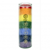 7 chakra candle