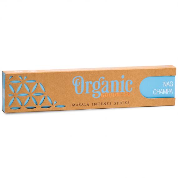 organic nag champa incense sticks