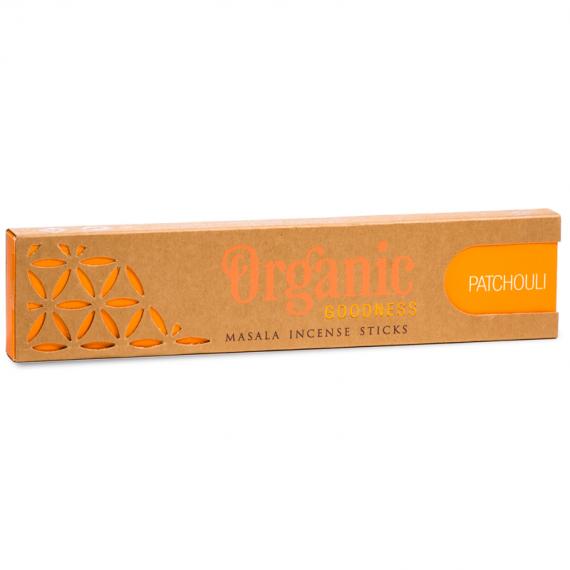 organic patchouli incense sticks