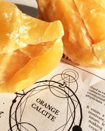 House of Formlab Raw Orange Calcite