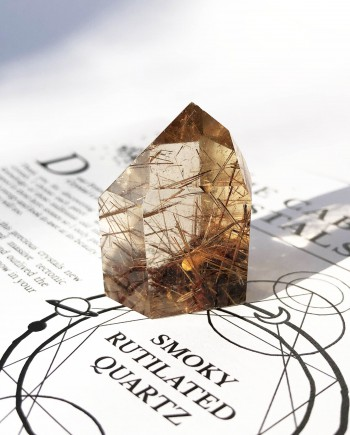 House of Formlab Smoky Rutilated Quartz 4