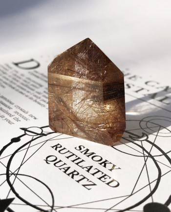 House of Formlab Smoky Rutilated Quartz 5