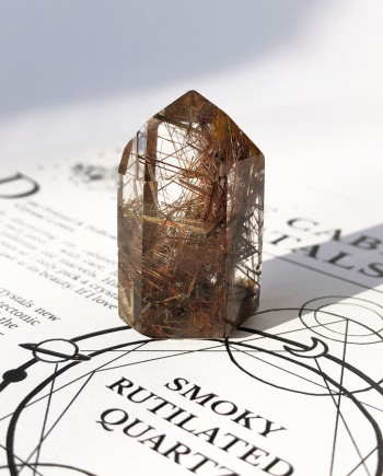 House of Formlab House of Formlab Smoky Rutilated Quartz 6