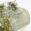 chlorite in quartz cluster