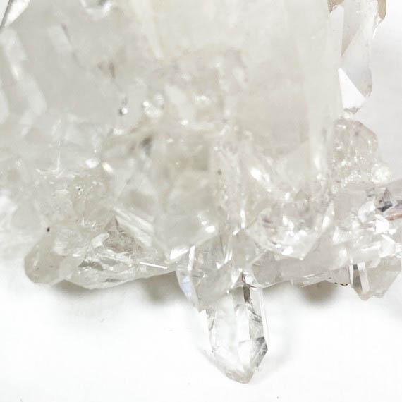 clear quartz cluster 01
