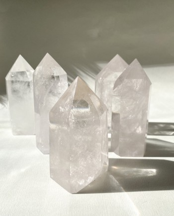 House of Formlab Clear Quartz Master Healers