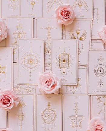 soul cards tarot pink