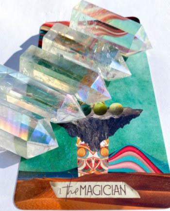 opal aura quartz