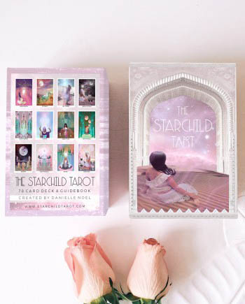 the first edition Starchild Tarot by Danielle Noel