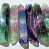 Karmic Healing Wand - Rainbow Fluorite