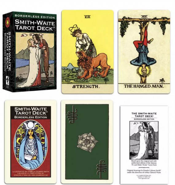 smith waite tarot deck