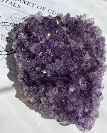Amethyst Glittering Cluster