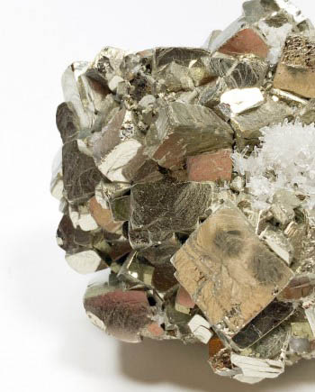 Large Pyrite Cluster