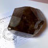 XL Smoky Quartz with Golden Rutile