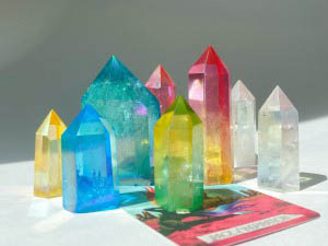 House of Formlab Aura Crystals