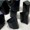 Black Tourmaline Protection Stones with Natural Terminations