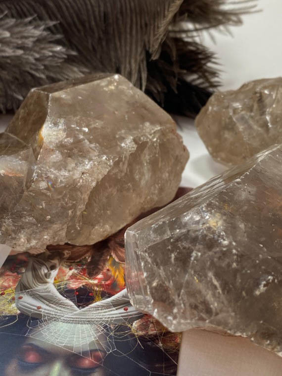 Smoky Quartz Healing Pic by House of Formlab