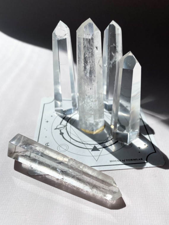 House of Formlab Clear Quartz Towers 002