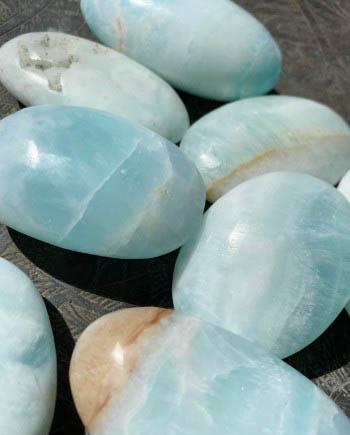 caribbean blue calcite