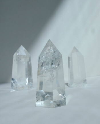 House of Formlab Clear Quartz Towers