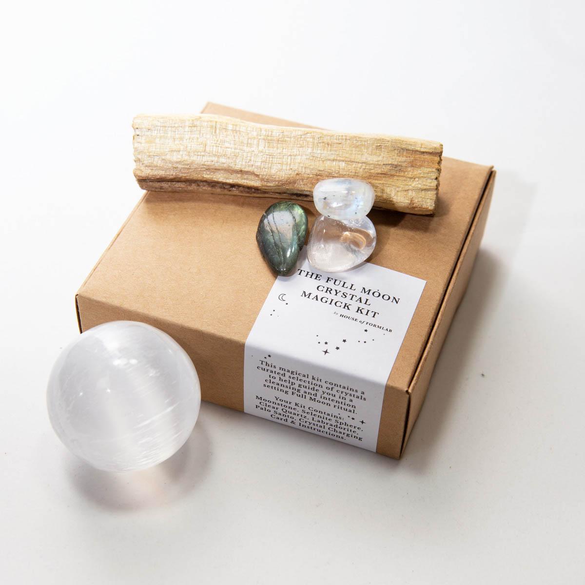 House of Formlab Full Moon Crystal Kit