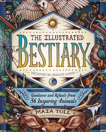 House of Formlab The Illustrated Bestiary by Maia Toll
