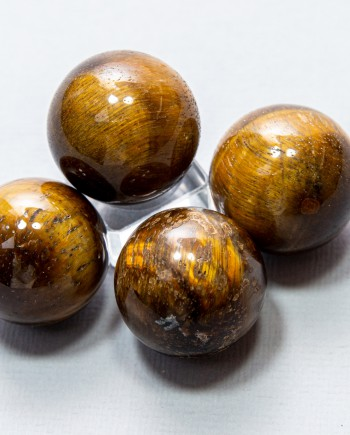 House of Formlab Tiger's Eye Spheres