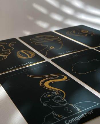 the akamara tarot deck