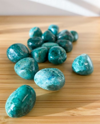 House of Formlab Chrysocolla Pocket Stone