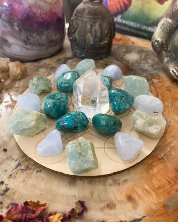 House of Formlab Crystal Grid with Metatron's Cube