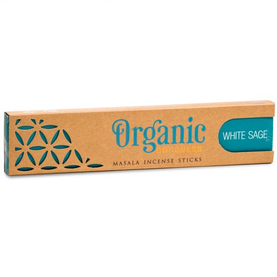 House of Formlab Organic Goodness White Sage Incense Sticks 001