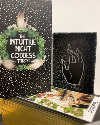 House of Formlab The Intuitive Night Goddess Tarot