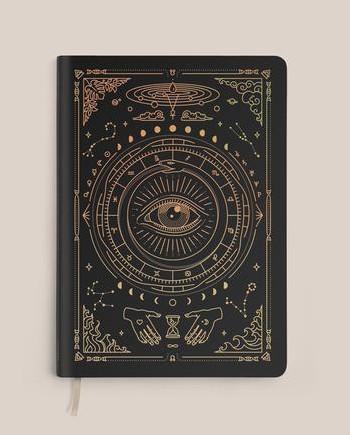 Magic of I Vegan Leather Journal