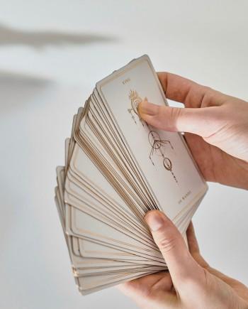 soul cards tarot white dahlia