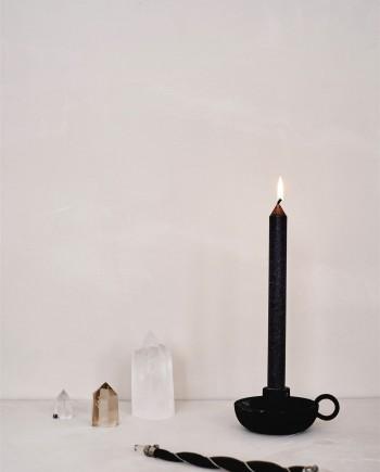 Black Spell Candle Bundle (banishing)