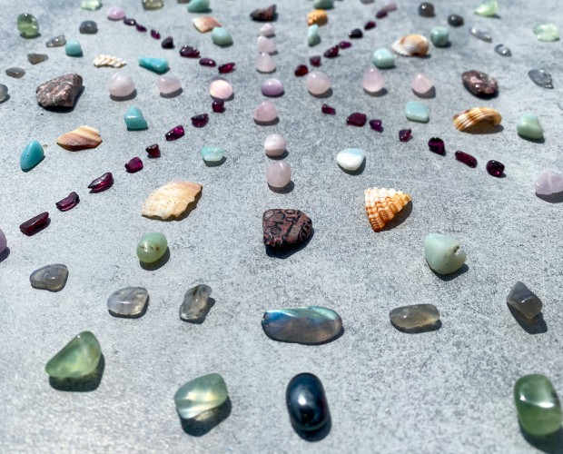 House of Formlab Crystal Grids