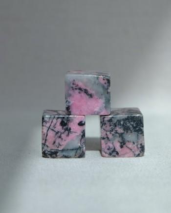 House of Formlab Mini Rhodonite Cubes