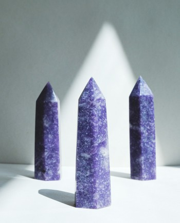 House of Formlab Lepidolite Towers