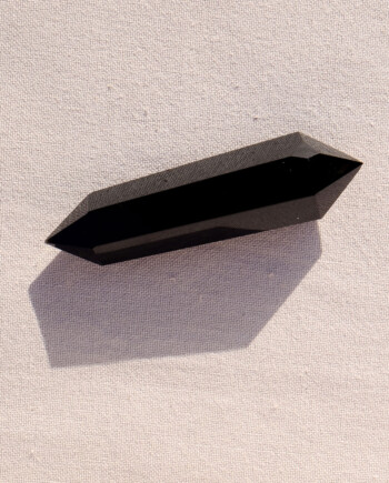 House of Formlab Double Terminated Obsidian Wand