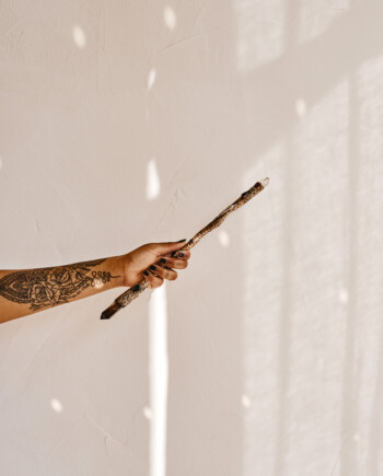 House of Formlab Snake Wand by Momo of Mercurious Designs